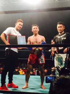 Tamashiro Ren championbelt